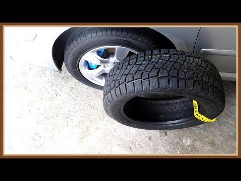 peugeot 307 com pneu 215/55/ e pneu 205/60 VEJA COMO FICOU !!!
