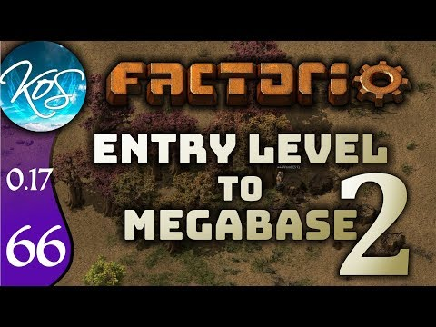 Factorio 0.17 Ep 66: NEW STATION - Entry Level to Megabase 2 - Tutorial Let's Play, Gameplay