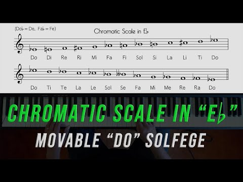 "Sing and Play the ""Eb"" Chromatic Scale"