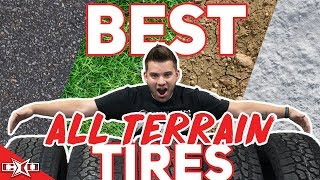 BEST All-Terrain Tires for This Year!