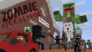 Monster School : ZOMBIE APOCALYPSE - Minecraft Animation