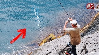 Как ловят на море местные жители