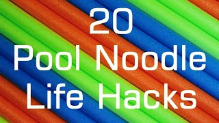 20 Pool Noodle Life Hacks