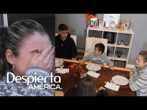Download Esta mamá hispana lloró de felicidad con la sorpresa de Thanksgiving que le dio MAC HD Mp4 3GP Video and MP3
