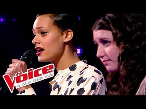London Grammar – Wasting My Young Years | Caroline Savoie VS Mélissa Bon | The Voice 2014 | Battle