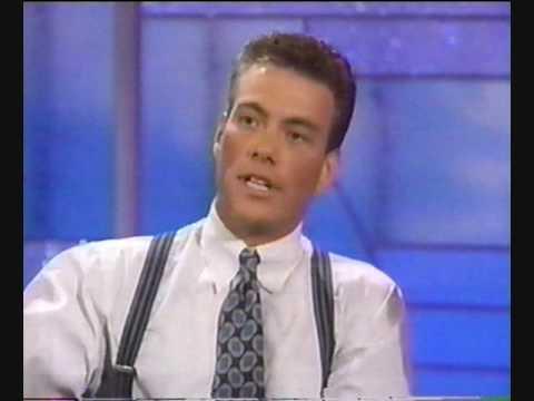 Van Damme on Arsenio Hall (Double Impact) Part 2