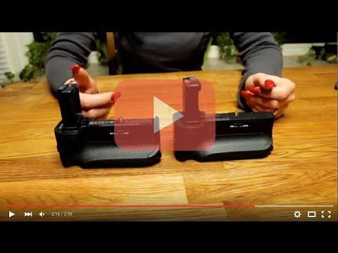 Vergleich Batteriegriffe für Sony A7/A7s/A7r Original vs Neewer