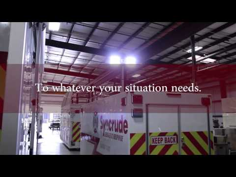 Disaster Response Trailers | vPOD Storage System Containers for Decon & Disaster Response