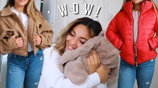 PrettyLittleThing Coats + Jackets Try On Haul