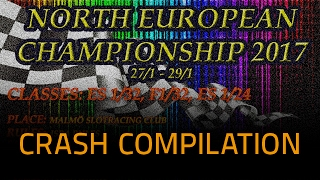NEC 2017 – Eurosport 1/24 Final A – Crash Compilation