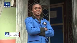 Nigerian High School Graduate Develops ''Foot Mouse'