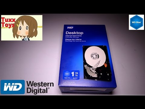 Westren Digital 1TB internal Hard drive (WD Blue series)
