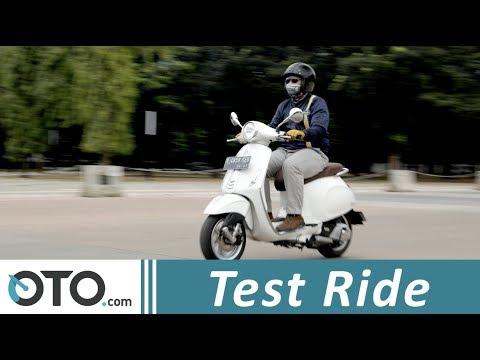Test Ride | Vespa Primavera 150 2018 | Melebihi Logika | OTO.com