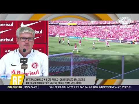 9d7839230ec77 Confira coletiva de Odair Hellmann após vitória do Inter sobre o São Paulo