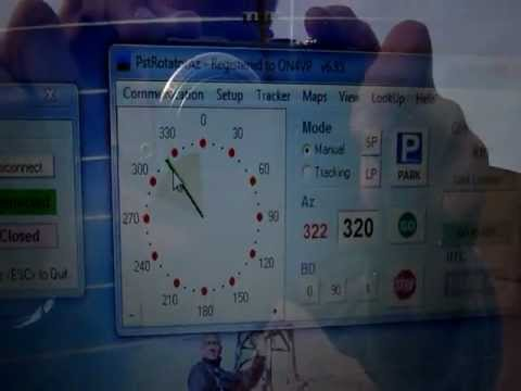 PstRotator - remote antenna rotator control - смотреть онлайн на Hah
