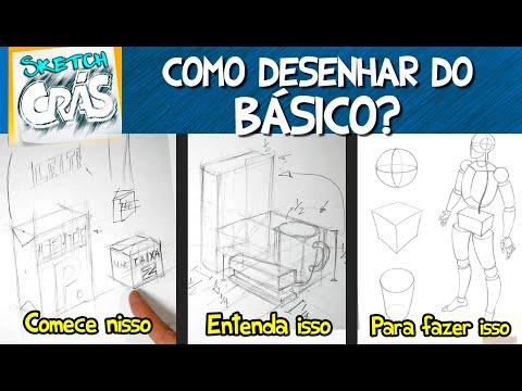 Como desenhar do básico