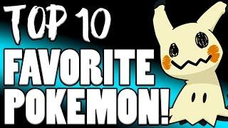 Verlisify's Top 10 Favorite Pokemon!