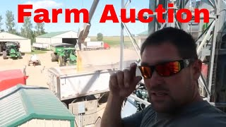Farm Auction Preparations