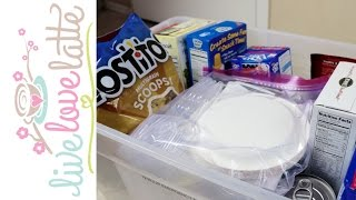 72 Hour Emergency Food Kit (for NEW Preppers + MOM Preppers)