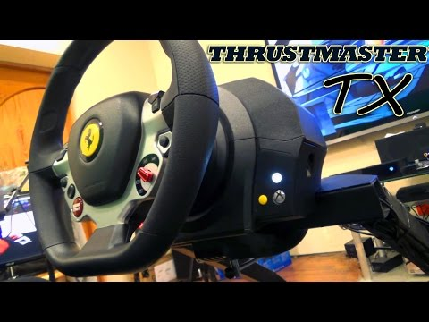 Обзор Thrustmaster TX Racing Wheel Ferrari 458 Italia Edition