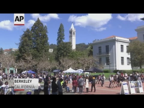 The University of California and other American colleges say they're opposed to an executive order by President Donald Trump that requires universities to protect free speech on their campuses or risk losing federal research funding. (March 21)