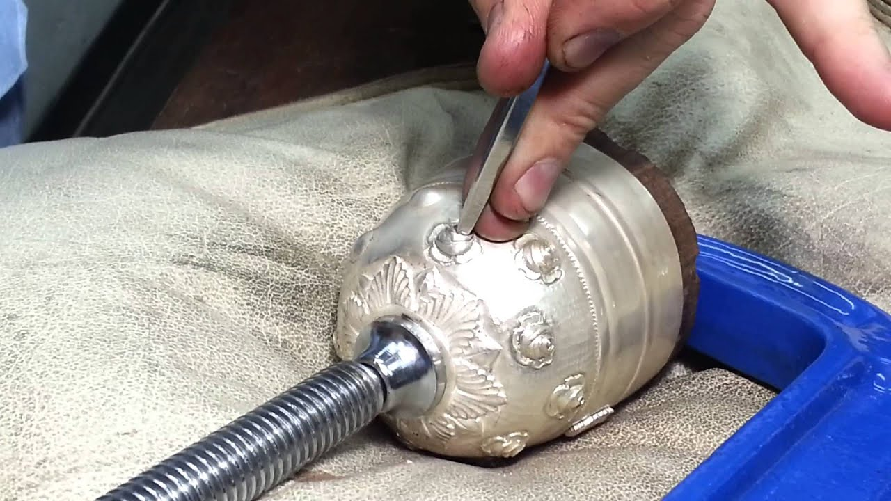 How A Pope's Chalice Is Made