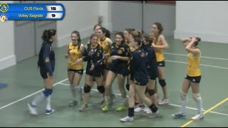 preview picture of video 'Pallavolo Femminile: CUS Pavia - Volley Segrate'