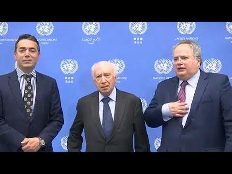 Σκοπιανό: Σε εξέλιξη οι διαπραγματεύσεις στη Βιέννη