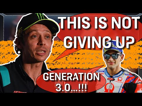 Retirement is NOT GIVNG UP, says Valentino Rossi; Jorge Lorenzo speaks about MotoGP   #MotoGP 2021