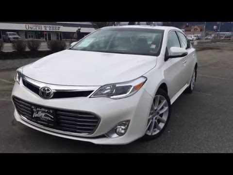 (SOLD) 2014 Toyota Avalon Limited Preview, At Valley Toyota Scion In Chilliwack B.C. # 16064A