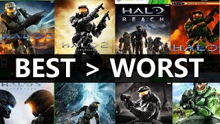 Ranking Every Halo Game from BEST to WORST