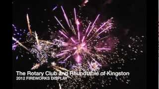 preview picture of video 'Kingston upon Thames Fireworks 2012'