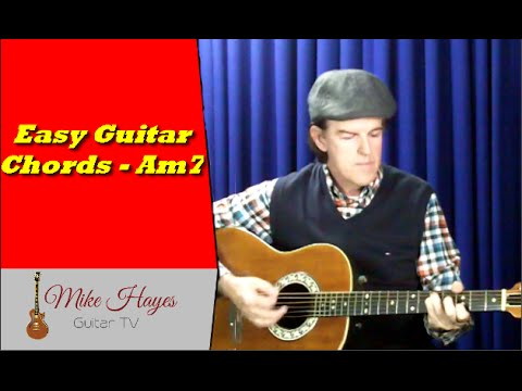 Beginner Guitar Chords -  Easy Guitar Chords - Am7