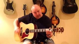 How to Play San Francisco Bay Blues - Jesse Fuller/Eric Clapton (cover) - Medium 7 Chord Tune