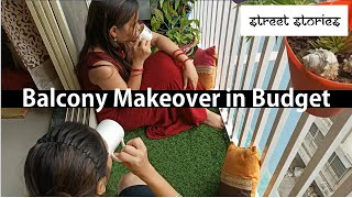 Small Balcony Makeover In Budget | Balcony Decor |Balcony Wall Painting | Things To Do In Lockdown