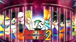 Dragon Ball Z Raging Blast 2 - Random Characters 6 (Future DBZ Games)