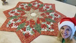 SEW A CHRISTMAS TREE SKIRT!