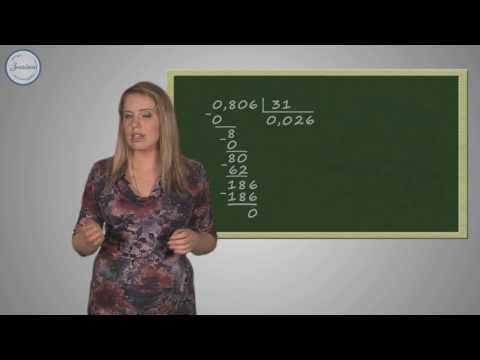 Деление десятичной дроби на натуральное число