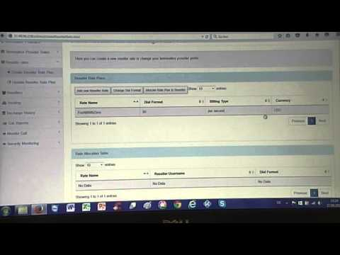 Part Three - Add Reseller Rate Plan