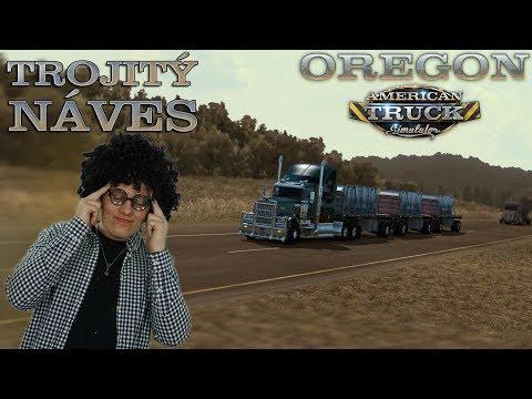 TROJITÝM NÁVĚSEM NAPŘÍČ OREGONEM! | American Truck Simulator #32