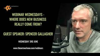 Where does new business really come from with Spencer Gallagher