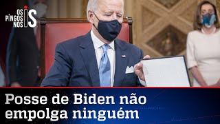 Posse de Biden empolga menos que o próprio presidente
