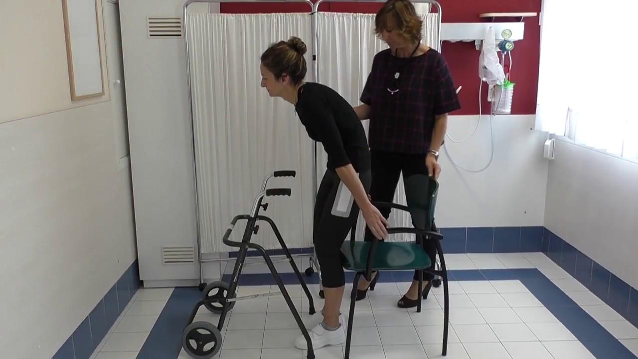 Vídeo sobre Escuela de cadera. Sentarse y levantarse.