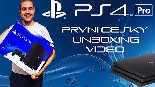 Playstation 4 PRO | PRVNÍ ČESKÝ UNBOXING