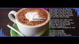 Hooverphonic   Romantic [ver.karaoke (LYRICS)]