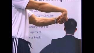 Wrist sprain video