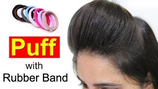 Download Youtube: Front Puff for Thin Hair | Quick & Easy Hairstyles with Puff