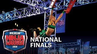 Jessie Graff Makes History at the National Finals Stage 1 | American Ninja Warrior