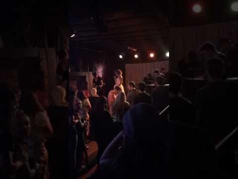 Headlining a show in Nashville TN singing all originals.