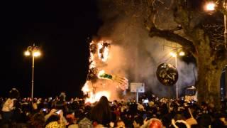 preview picture of video 'Carnevale di Sciacca 2014 - Rogo del Peppe Nappa'